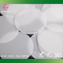 ISO9001 High Haze Led PC sheet light diffuser plate