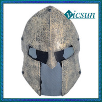 BLG-031 Yiwu Caddy Classic theme movie full face hero fiberglass protective mask halloween, Sparta mask
