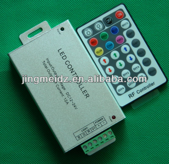 Best selling LED RGB Wireless RF remote control