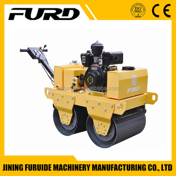 China mini vibratory roller manufacture 550kg road roller (FYL-S600)