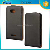 Factory Wholesale Luxury Ultra Slim Vertical Magnetic Leather Flip Case for Sony Z1 Compact D5503