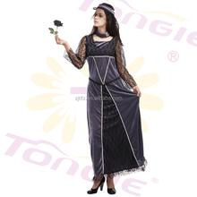 China wholesale high quality Sexy halloween Costume for women adult party long dress