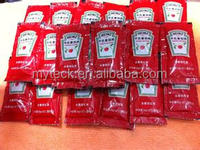 Automatic tomato paste /ketchup pouch filling machine