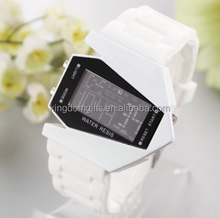 Digital LED Silicone Wrist Watch with flash light