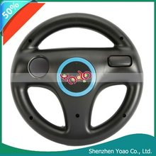 Wholesales! Rotary Steering Wheel For Wii Black