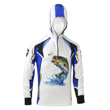Best selling full sublimation UPF 50+ performance blank fishing shirts with factory price