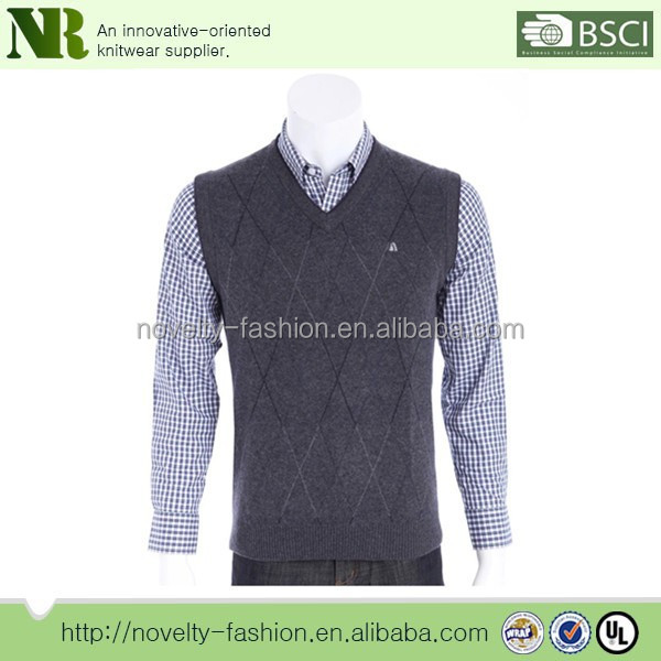 Knitting Men Sweater Vest Patterns,v Neck Sweater Knitting Pattern for men