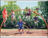 children outdoor climing playground equipment