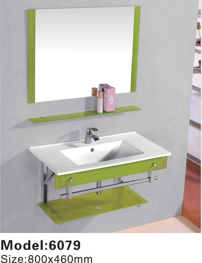 New Integral basin Bathroom Vanity Sink