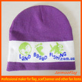 custom promotional advertising cheap jacquard beanie