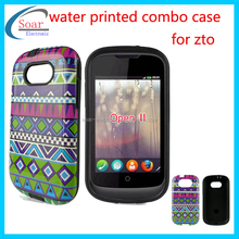 Gummy water printed phone case for zte open II