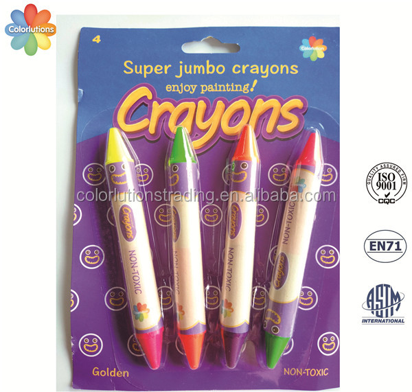Hot sale double ended crayon pen