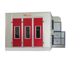 Qiangxin Good Electric Spray Booth For Cars