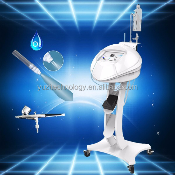 Vertical jet peel machine high pressure oxygen jet peel applied with the advanced pulse oxygen spraytechnology good quality