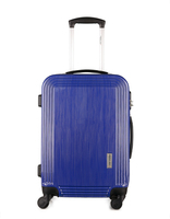 ABS+PC aluminium trolley travel luggage bag hard case with removable wheels