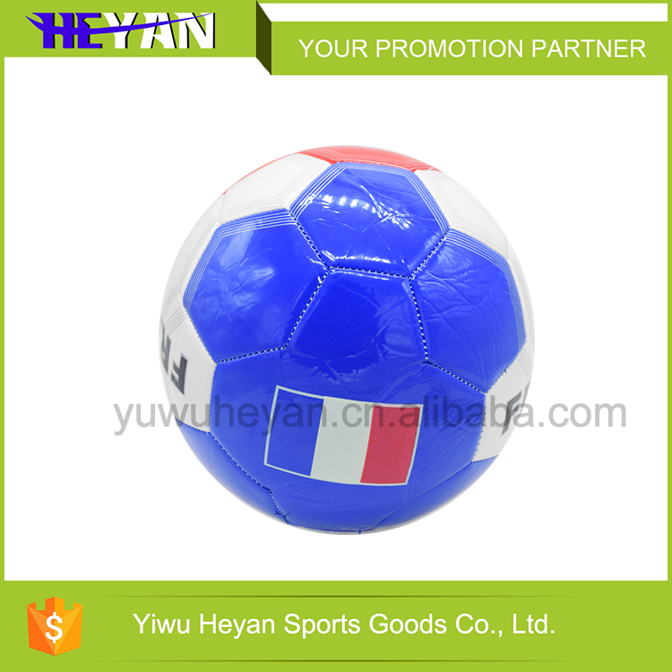 machine stitched laminated synthetic leather soccer footballs size 5 mini small laminated soccer ball