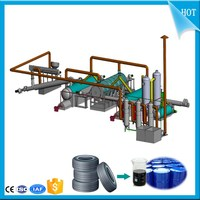 Environment Friendly 20t Waste tyre pyrolysis plant_Used tyres recycling machine