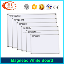 School Furniture small white board size magnetic class whiteboard for fridge