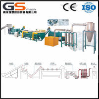 GS -,mach manufacturer direct plastic pet bottle scrap recycling machine
