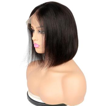 Joywigs Brazilian Lace Front Wig Virgin Hair 8 inch Bob Wig
