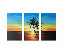 SunShine And Sea Beautiful Scenery Home Goods Wall Art Canvas Painting