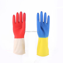 Long fancy household latex gloves/Fingerless Hand Protective Safety Gloves Household Latex Gloves