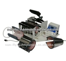 Sublimation heat press machine/ Sublimation Combo Mug Press Machine (SFS-M12)
