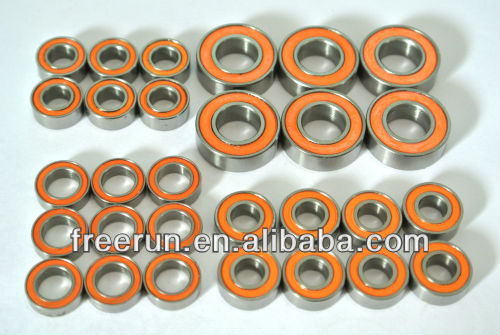 High Performance CEN MATRIX R2 PRO ceramic bearing kits with different rubber seal color