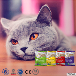 Factory samples free accept custom package bag bentonite cat sand
