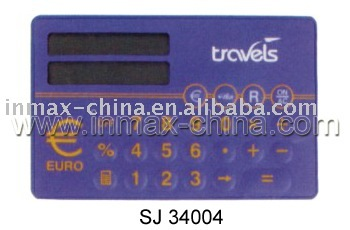 Calculator with EU dollar exchange