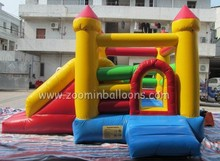 Outdoor inflatable fun city/large inflatable combo/inflatable castle slide Z2032