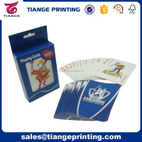 B021 Custom Logo Advertising Paper Playing