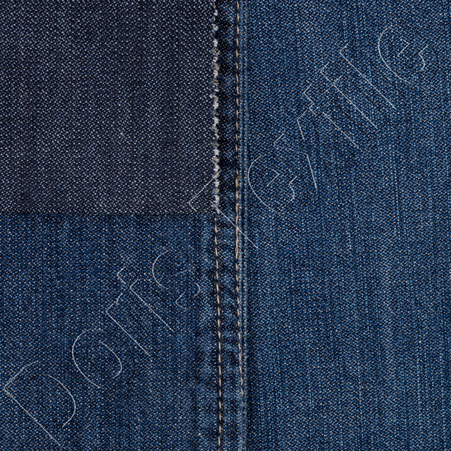 Ralph Lauren Dark Navy Crisp Cotton Denim fabric