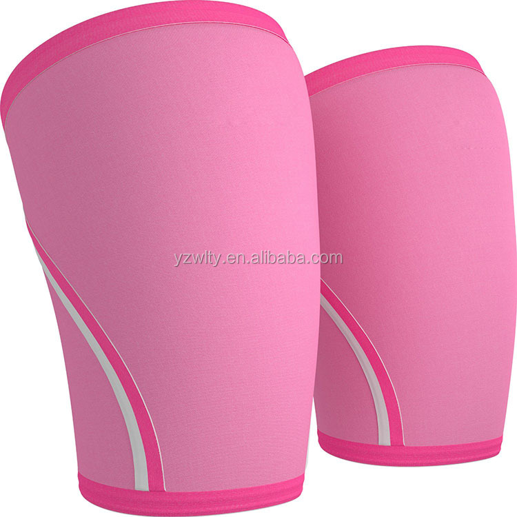 Top quality fashion design elastic neoprene 7mm knee sleeve for men and women
