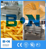 french fries peeling and cutting machine