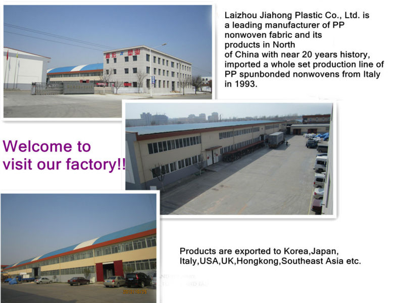 arriculture  hygiene nonwoven weed control membranes  PP spunbond nonwoven weed control pp nonwoven weed control