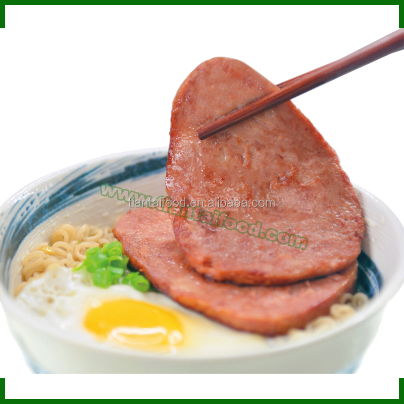 wholesale canned pork 340g Spam canned shallot pork can luncheon meat