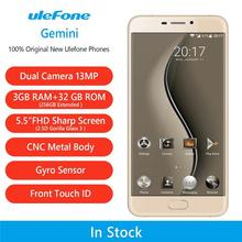 China Factory 7 inch Screen Smartphone 3GB RAM 32GB ROM MT6737T 13MP Ulefone Gemini