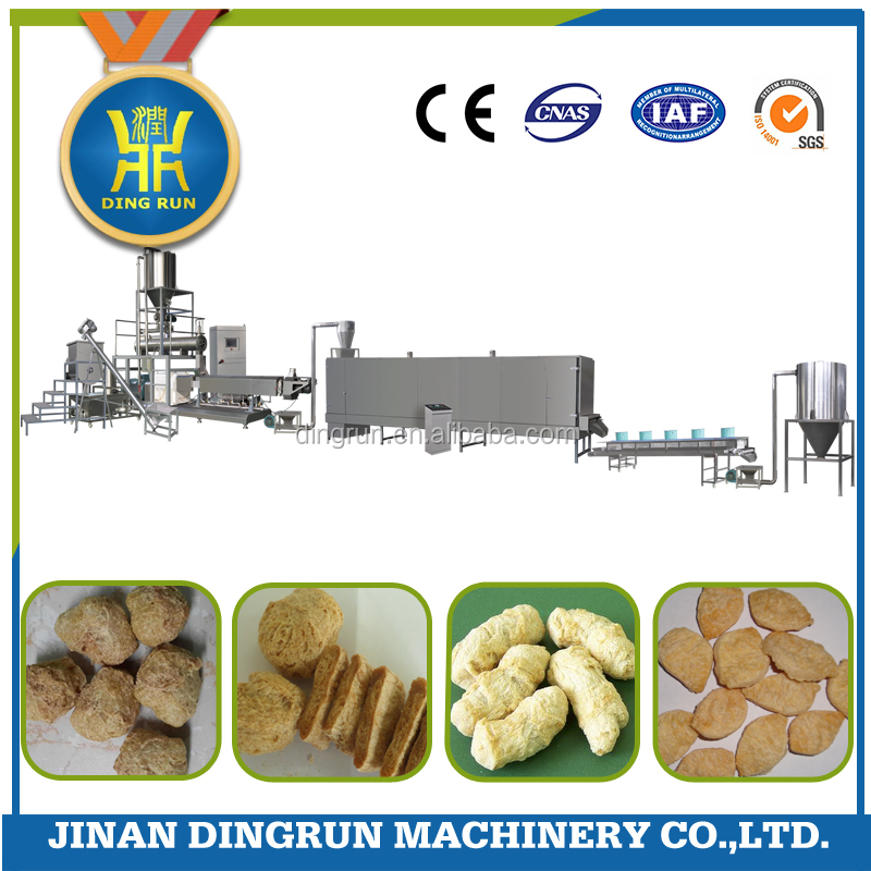 Good quality textured soya bean protein making machine