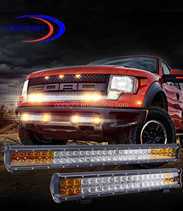 2017 New Product Led Bar Travtor White/amber Dual Color Cheap Led Light Bar