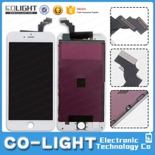 Factory direct lcd+touch black/white for iphone 6 plus with high quality