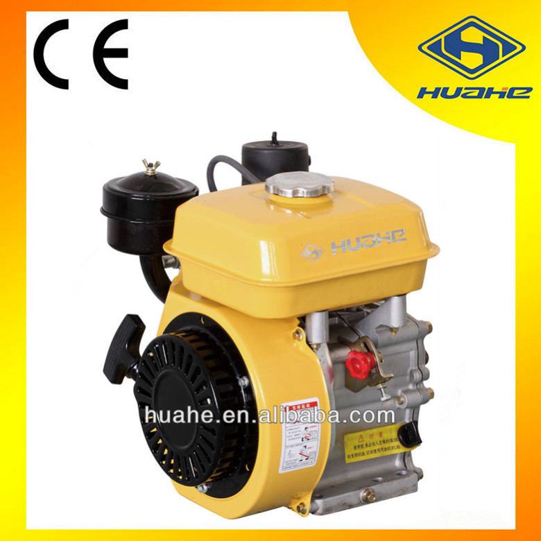 5.5hp air cooled 4 stroke electric motor used diesel engine for sale,single phase alternator generator for diesel engine