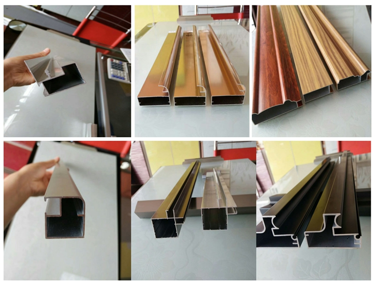 New design extruded aluminum fabrication products CNC machined Parts