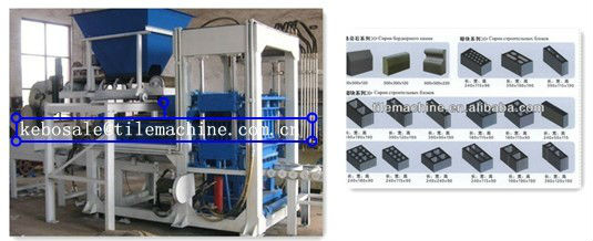 KBQ4-32 Concrete block making machine (86-15105100382)