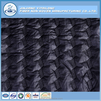 Manufacturing Flame Retardant Polyester Wadding Filling Padded Mens Jacket Quilted Fabrics