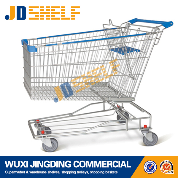 Cheap For Sale Japanese Metal Supermarket Shopping Trolley