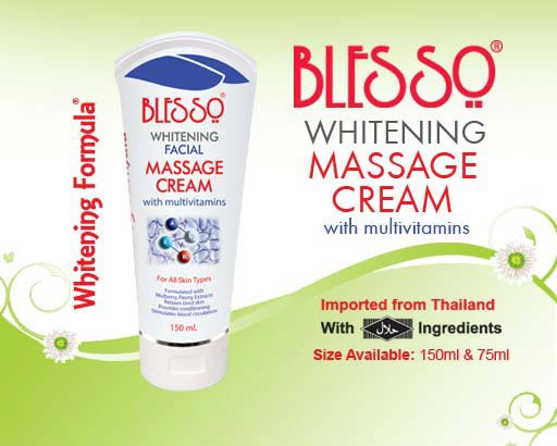 Whitening Facial Massage Cream With Multivitamin