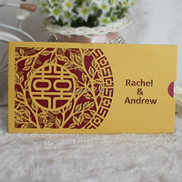 Buy 4.3'' customized LCD video wedding card chinese wedding ...