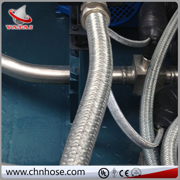 concrete reinforcement flexible lpg hose with gas regulator
