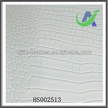 Synthetic pu and pvc Crocodile leather for sofa & chair & bag